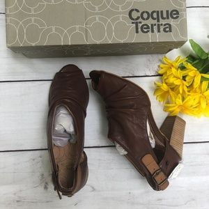 Coque Terra 1453 Brown Honey Heels/Sandals